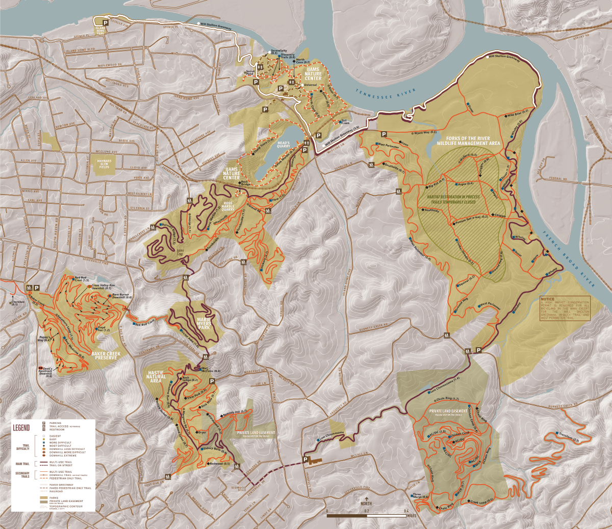 Urban Wilderness Map