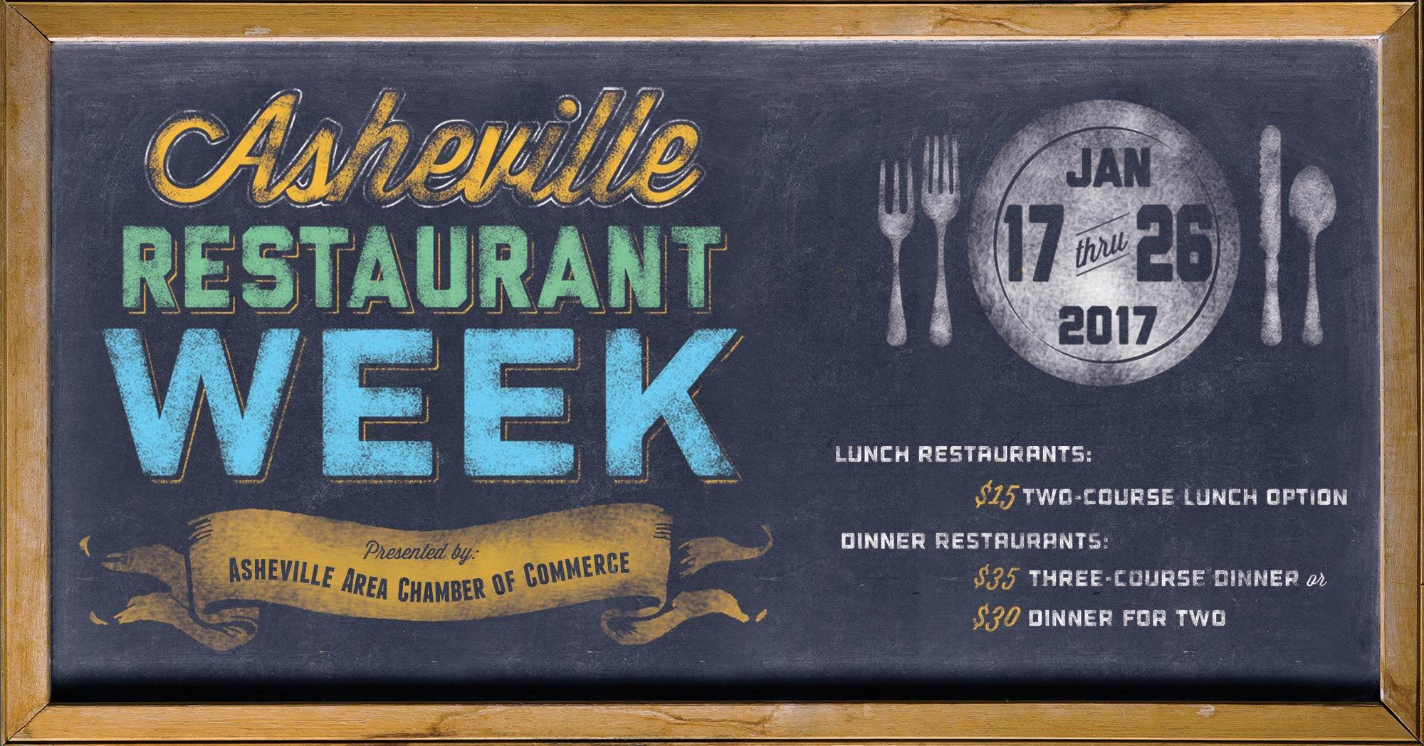 Asheville Restaurant Week | Jan. 17-26, 2017
