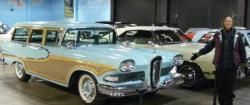 An Edsel Station Wagon, Janet's favorite.