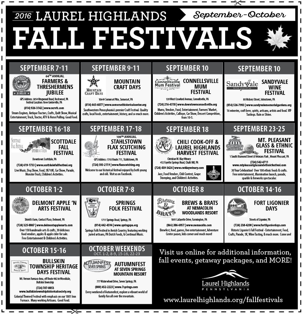 Fall Festivals Co-Op