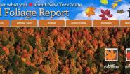 Go to iloveny.com for the latest fall color conditions!