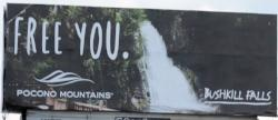 2016 Spring/Summer Co/Op - Billboard (Static) - Bushkill Falls