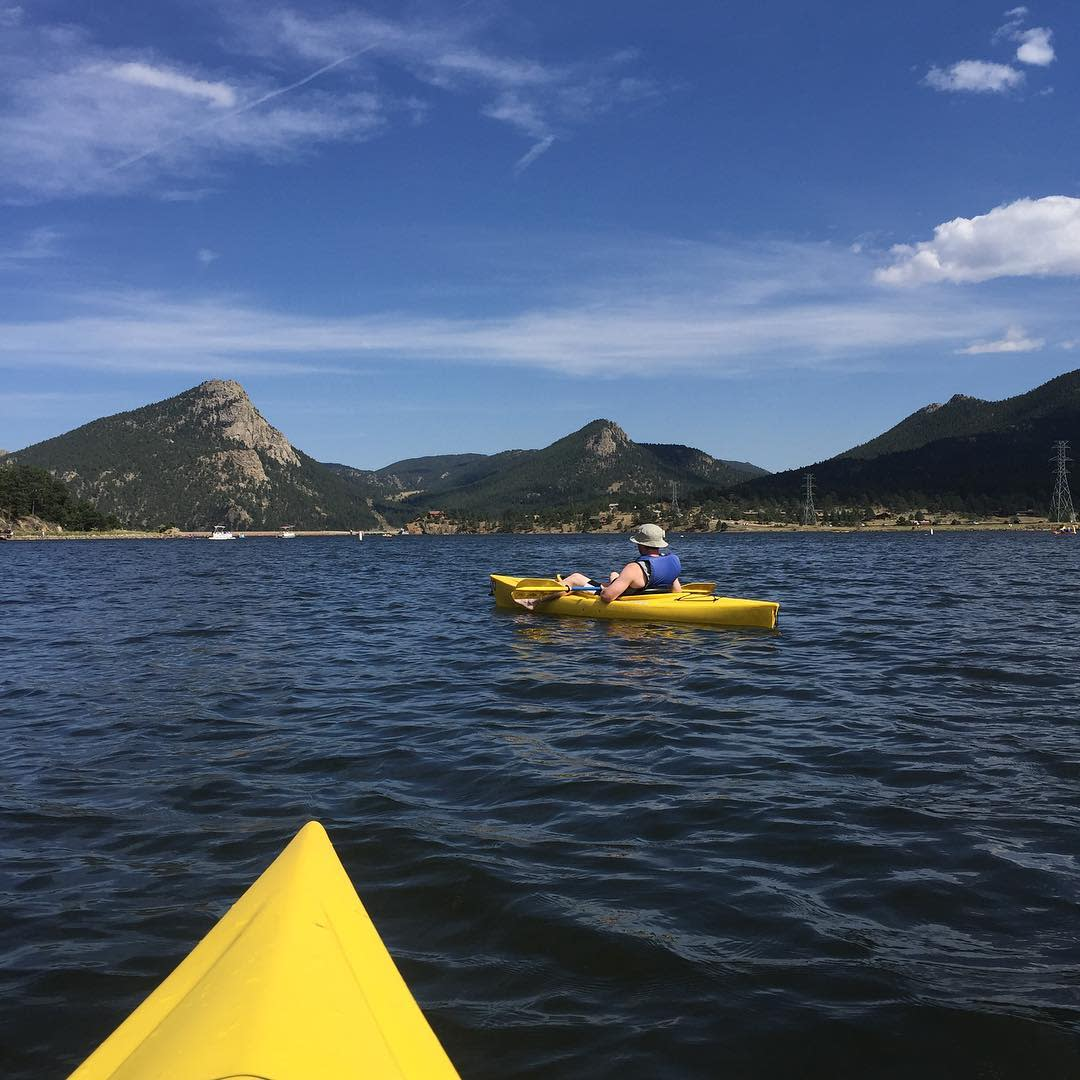 Boat Lake Estes Kayak