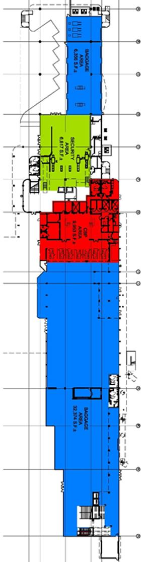Map of Cruise Terminal 21 first floor layout
