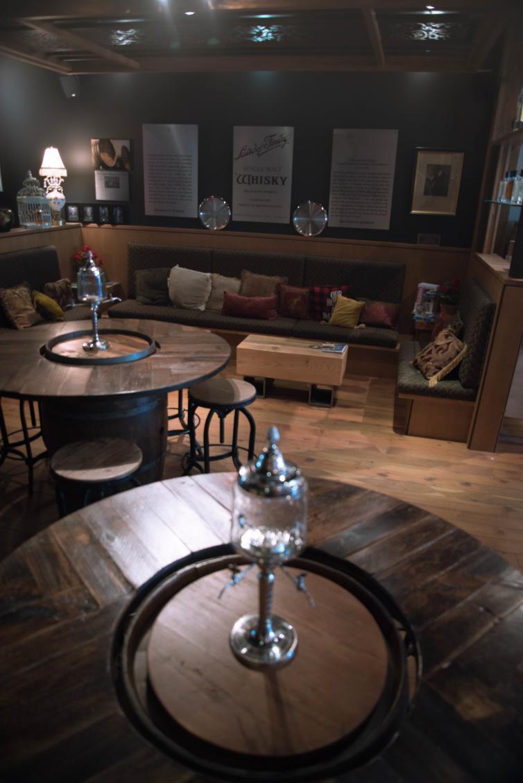Okanagan Spirits Lounge Seating