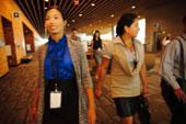 Thumbnail: Delegates Walking Down VCC Hallway