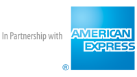 Amex in Partnership with logo