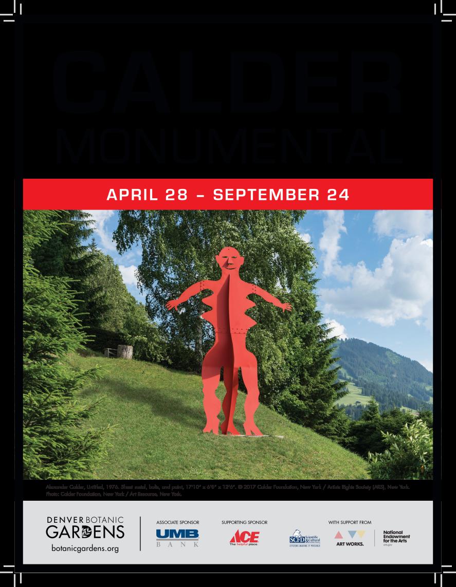 Calder: Monumental Poster