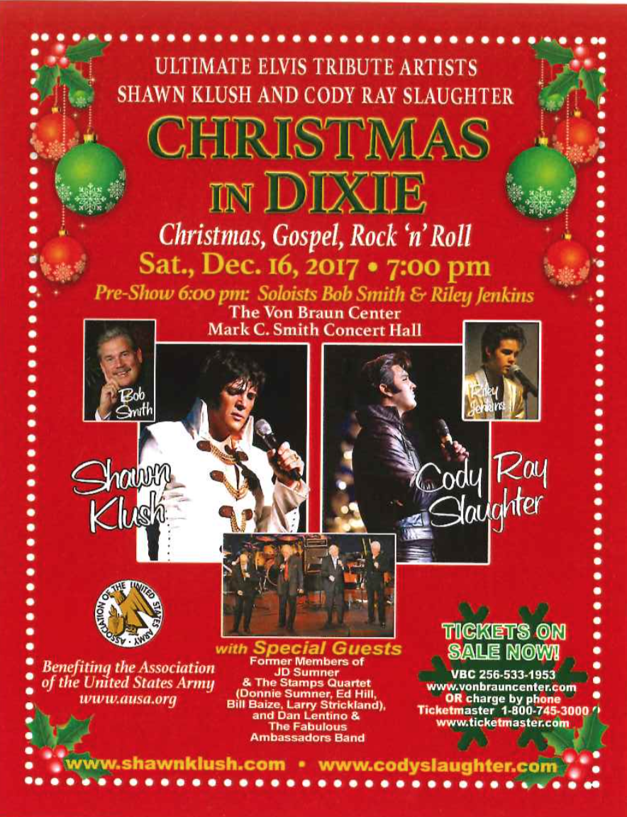 Christmas in Dixie: An Elvis Tribute at the VBC in Huntsville