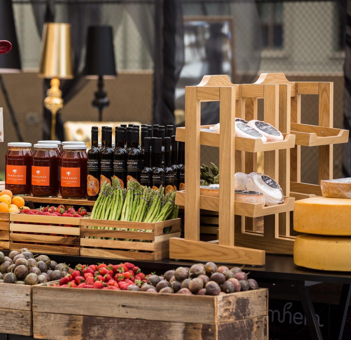 Grand Hyatt Melbourne - Food station set up at a Business Event