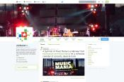 Social Media Twitter snapshot