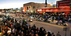 Bike Week on Main Street