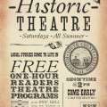 Summer Historic Theatre