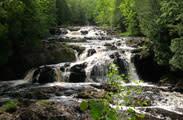 Agate Falls Waterfall