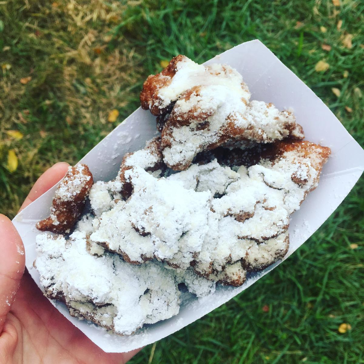 Larriland Farm Apple Fritters