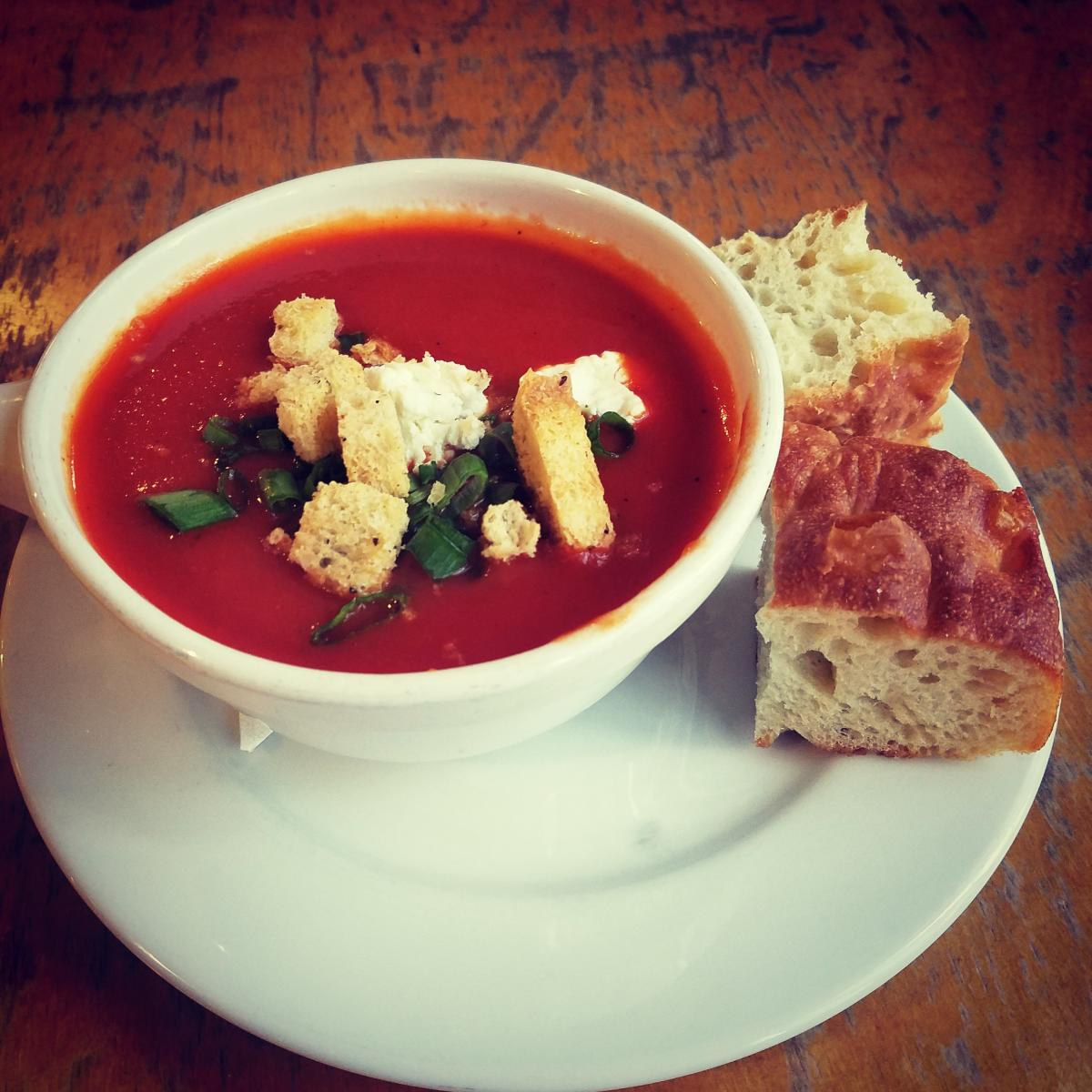 Tomato Soup Big City Bread Cafe