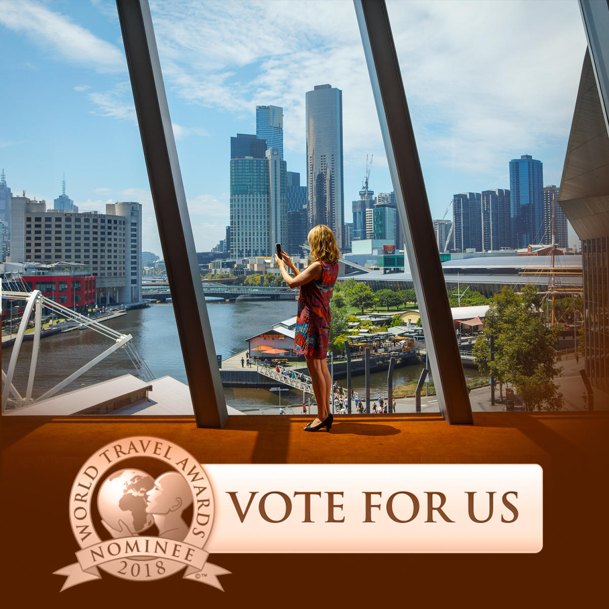 Vote for Melbourne in the World Travel Awards