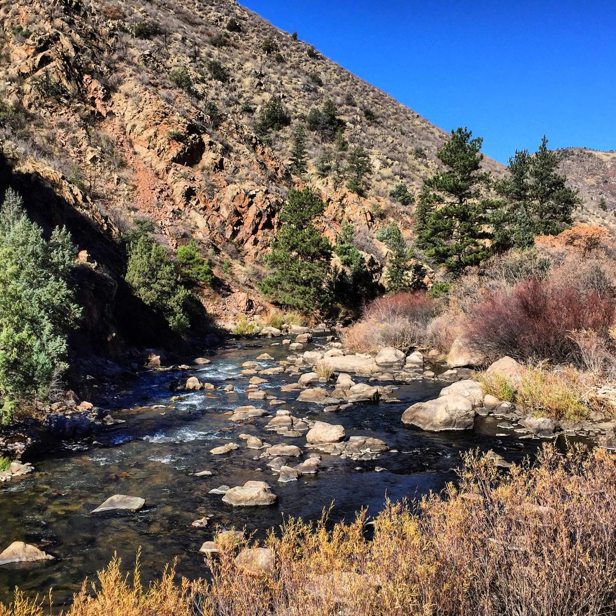 Waterton Canyon near Denver