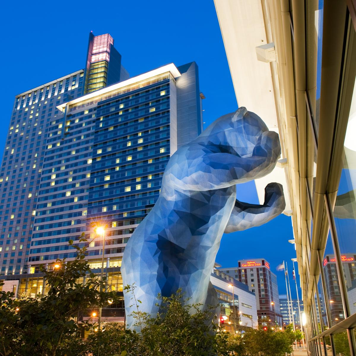 Copy of Colorado Convention Center Blue Bear