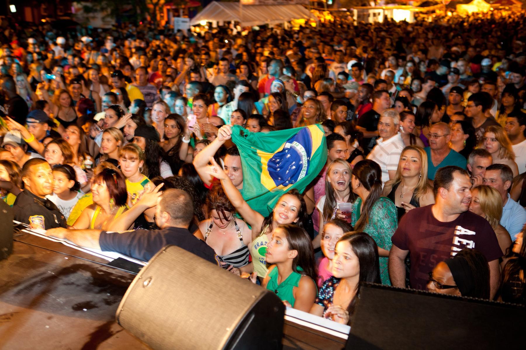 Brazilian Day Crowd
