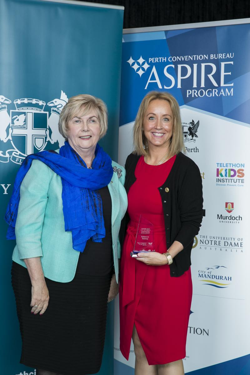 City of Perth Aspire Winner 2017