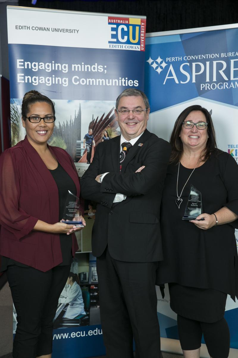 Edith Cowan University Aspire Award Winners 2017