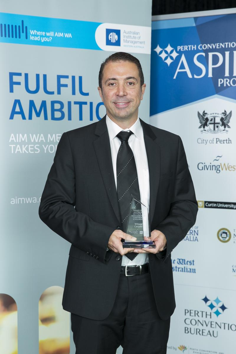 2017 Winner AIM WA