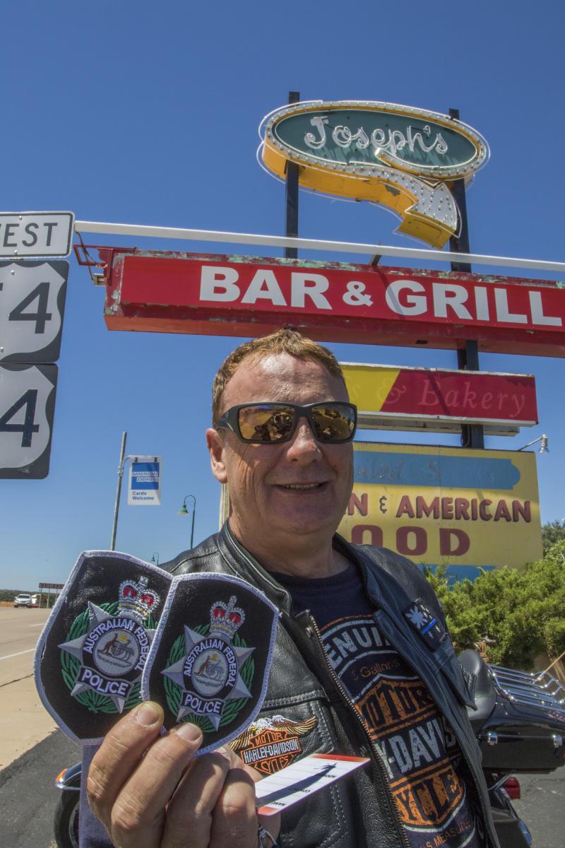 Route 66 Santa Rosa Joseph's Bar & Grill Australian Police