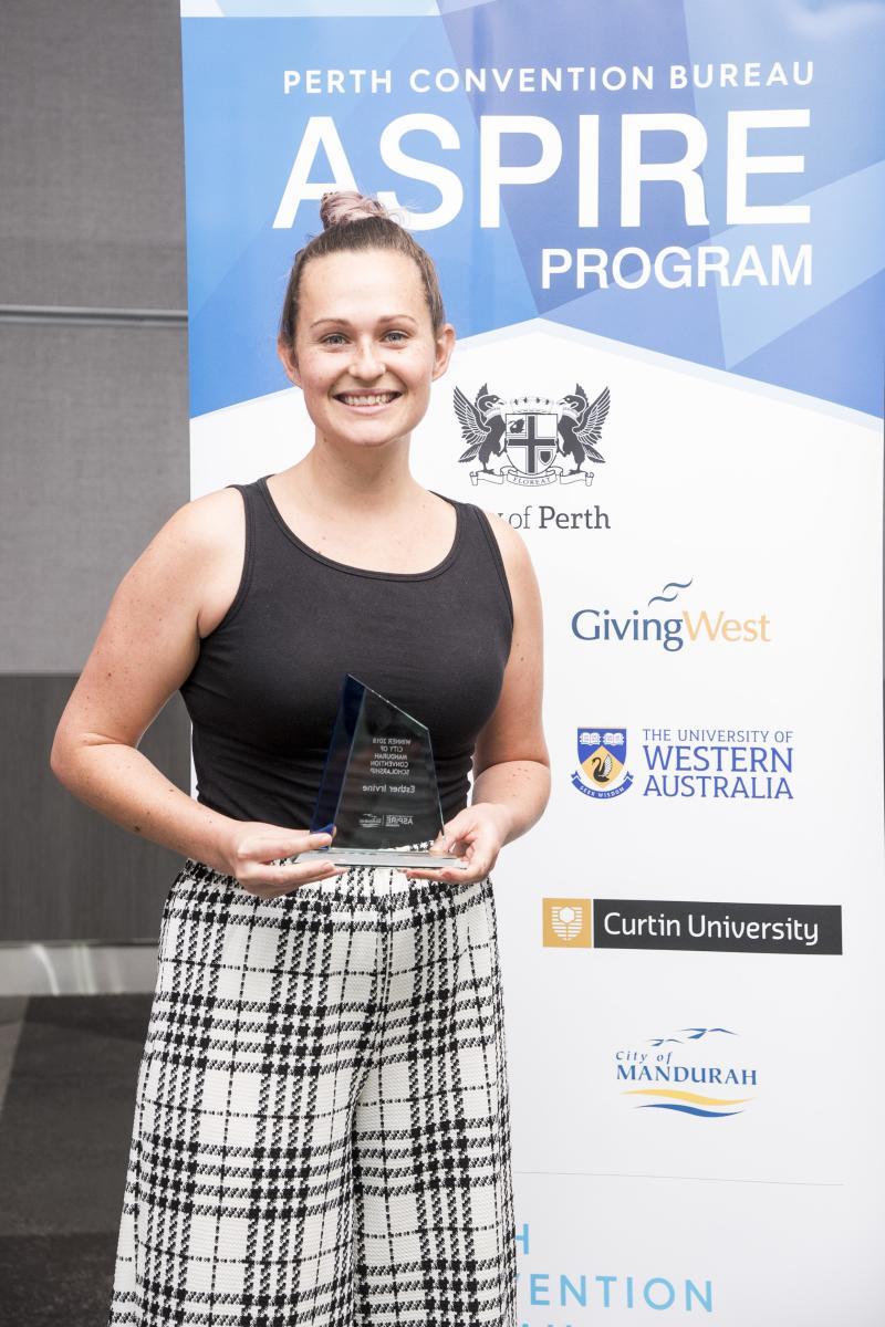Esther Irvine - 2018 Winner of City of Mandurah Award