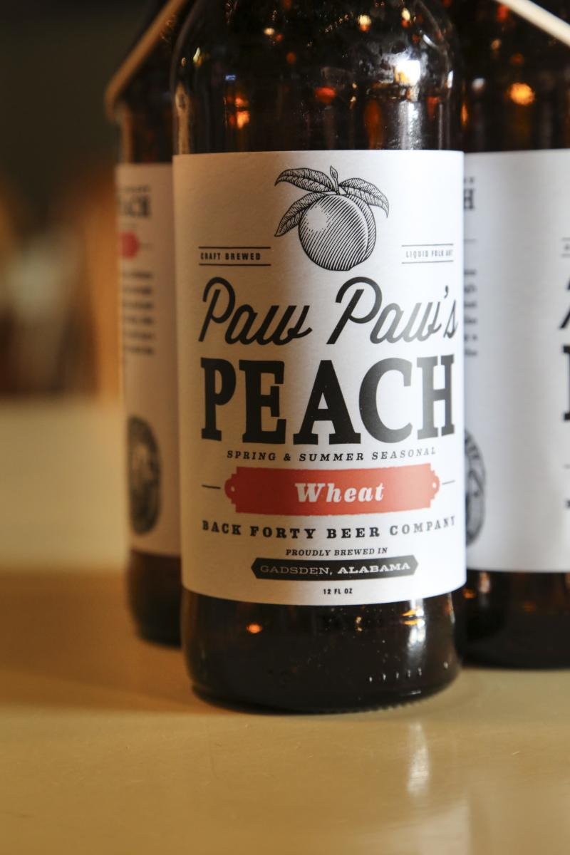 Back Forty Peach Beer