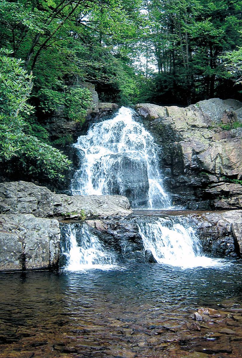Hawk Falls at Hickory Run State Park