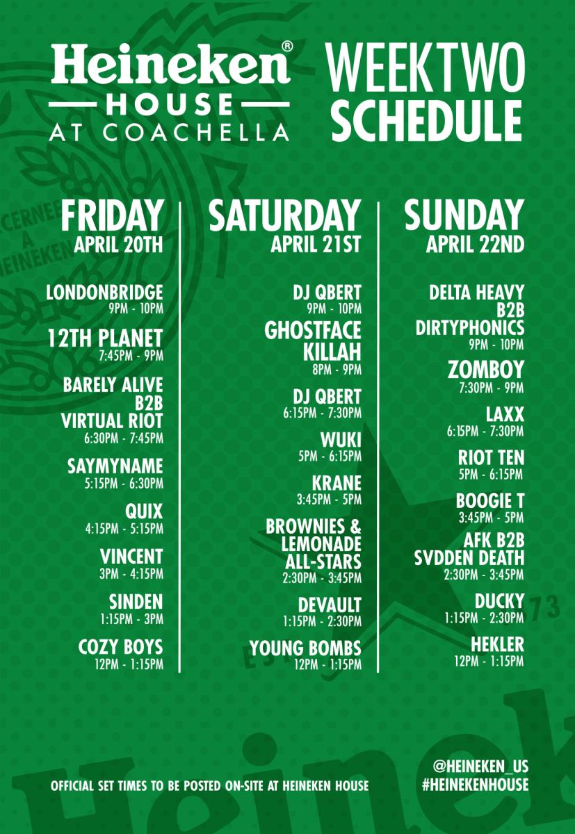 Coachella 2 Heineken House
