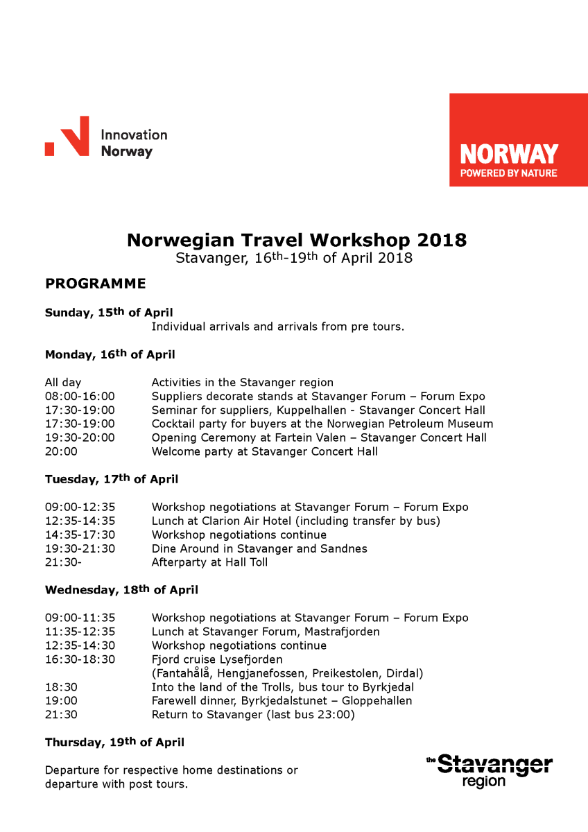Program NTW 2018