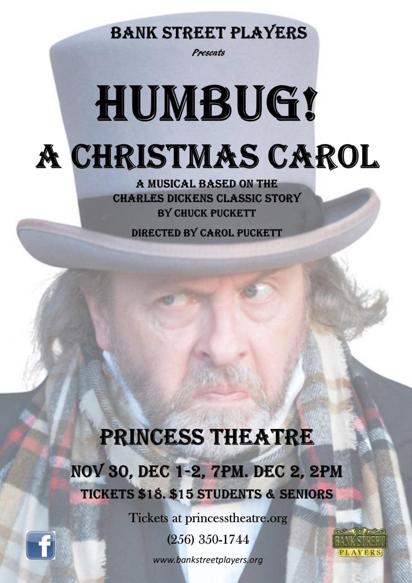 Princess Theater Christmas Carol