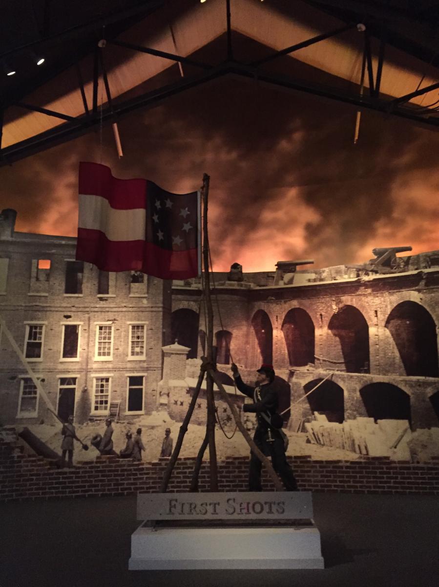 National Civil War Museum - Interior - by Mackenzie Carpenter - Oct. 2015
