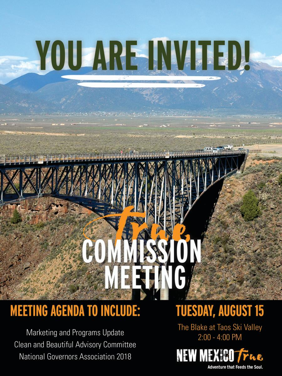 August Tourism Commission Meeting