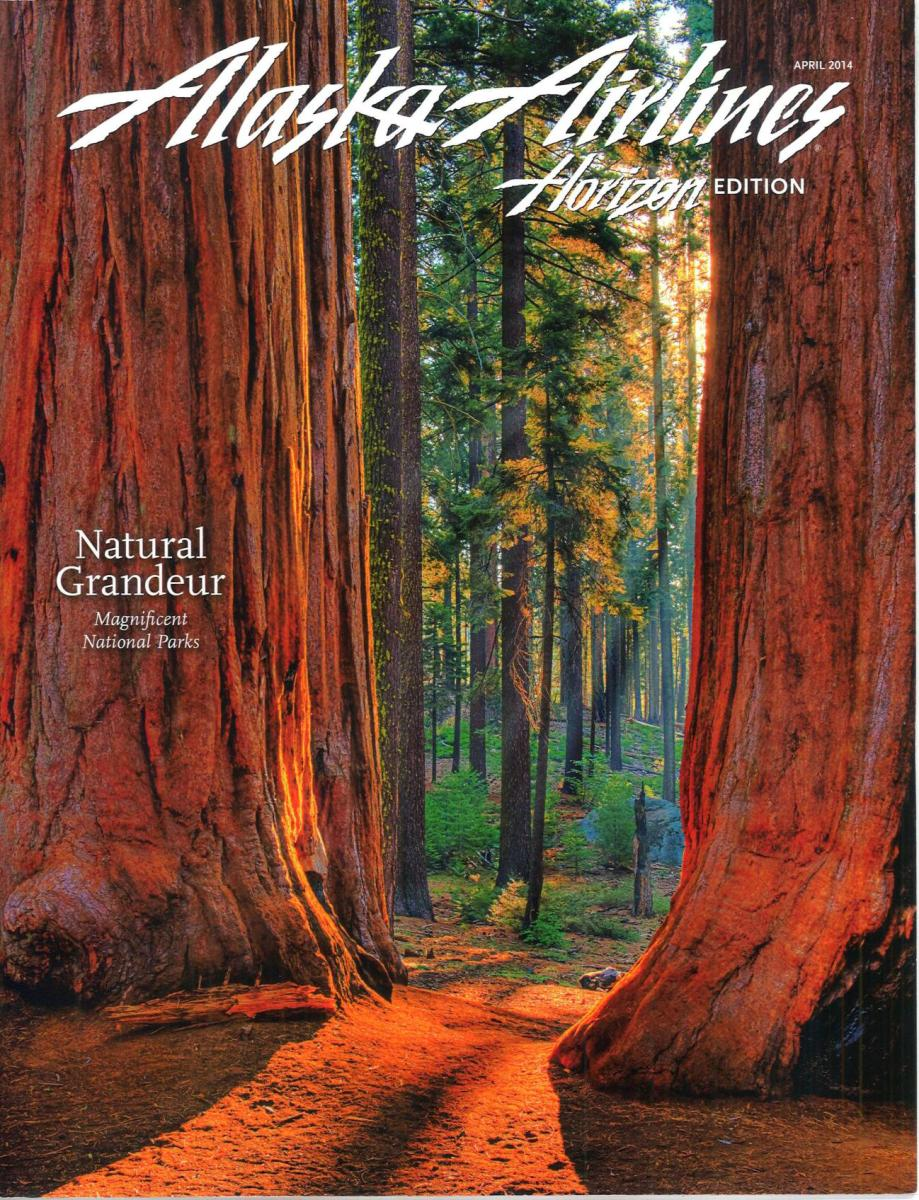 Alaska Airlines Horizon Editorial April 2014
