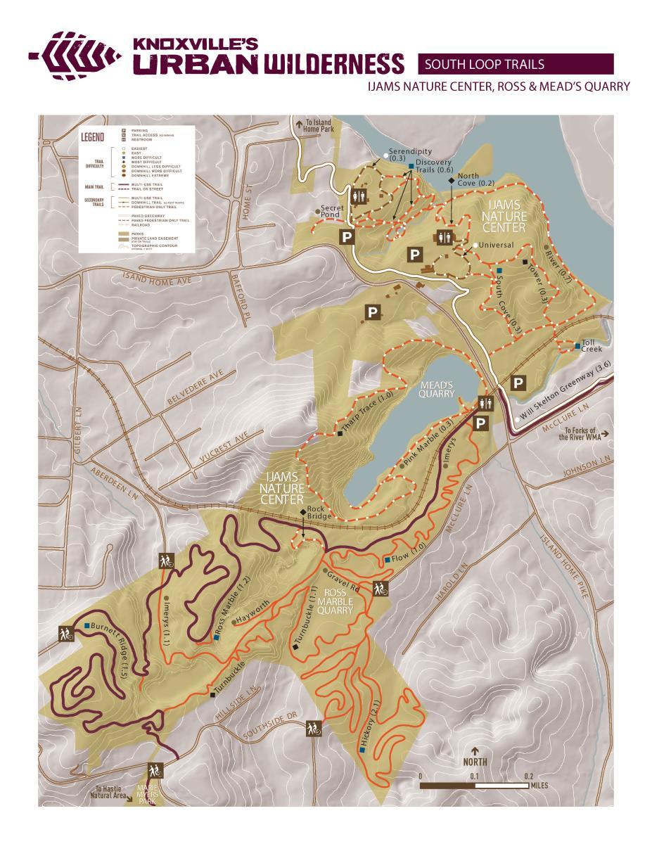 Ijams Map