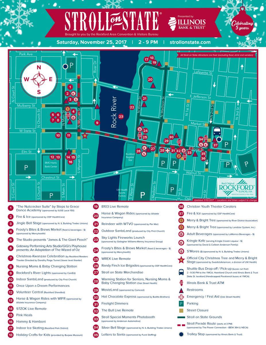 2017 Stroll Map
