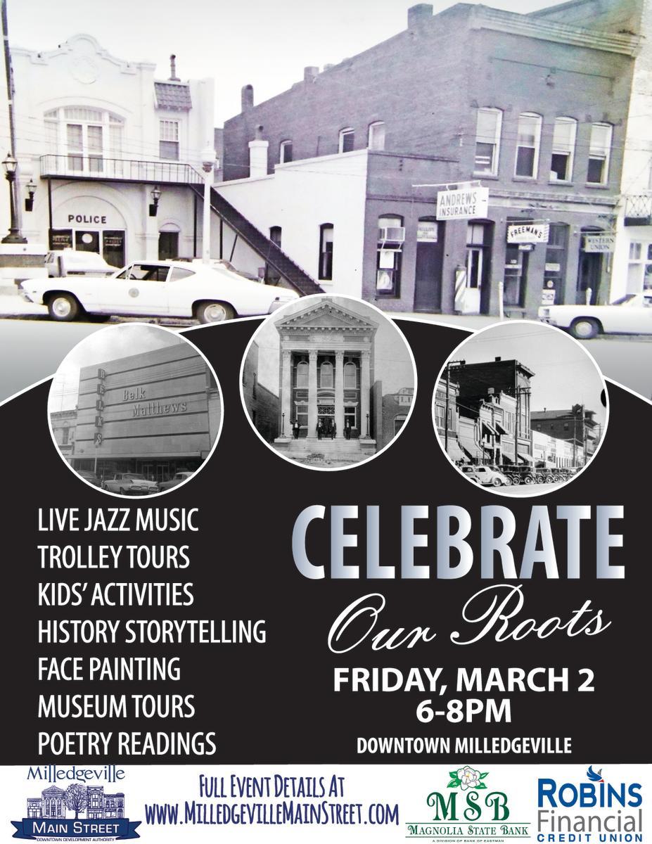 March First Friday Poster