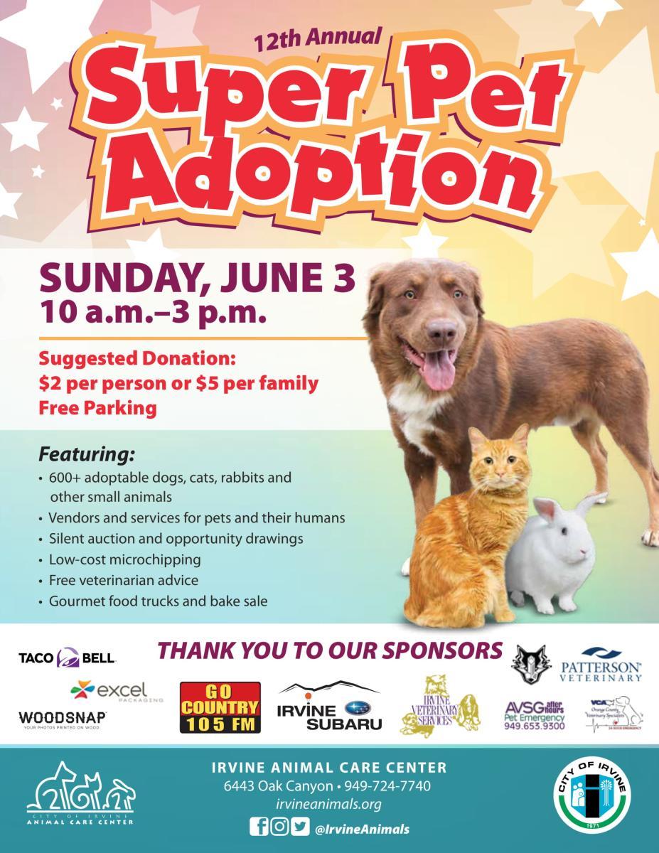 super pet adoption full flyer