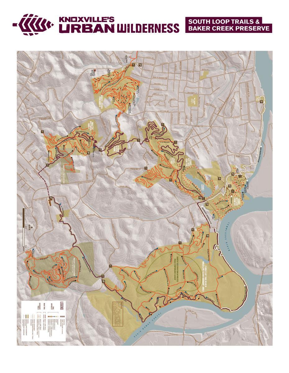 South Loop Map