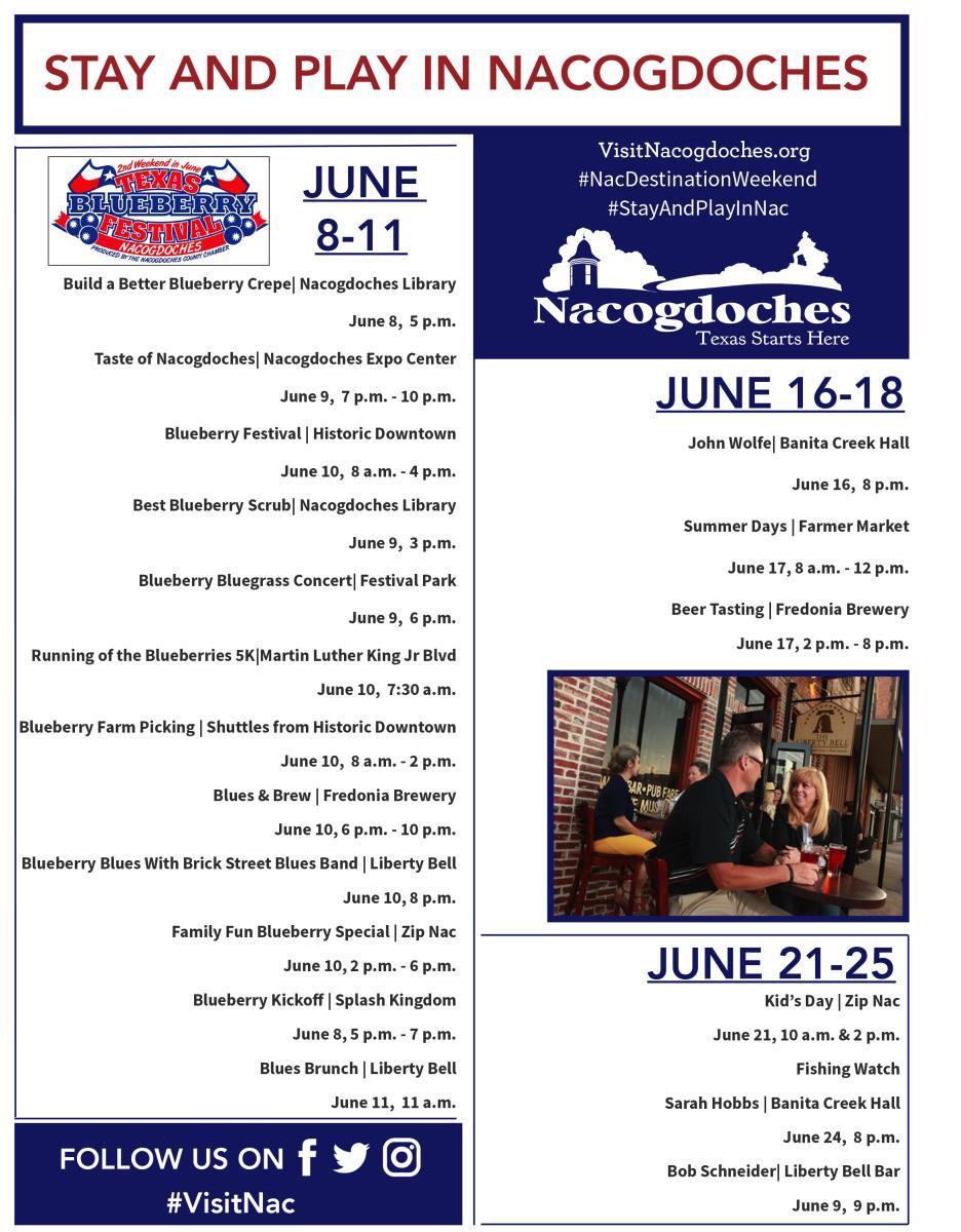 June weekend events