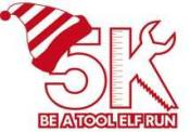 Be A Tool Elf Run logo
