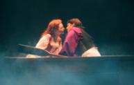 """Jessica Grové and Eric Kunze as Ariel and Prince Eric in the Music Circus production of """"The Little Mermaid"""" at the Wells Fargo Pavilion July 10-22. Photo by Charr Crail."""