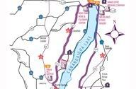 Canandaigua Wine Trail Map