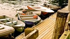 Boats at the dock