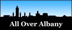 All Over Albany Logo
