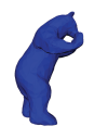 Official Blue Bear Statue Graphic