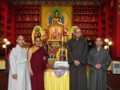 Abbots of Four Buddhist Temples Gather to Plan Celebration of the Buddha's Life.